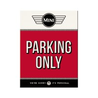 "CALAMITA ""MINI PARKING ONLY"""