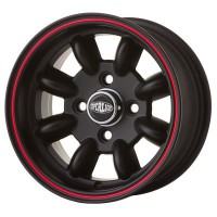 "CERCHIO IN LEGA SUPERLIGHT 6x12"" *NERO OPACO*"