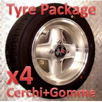 "TYRE PACKAGE REVOLUTION 6x12"" *ARGENTO*"