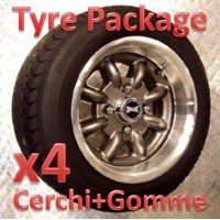 "TYRE PACKAGE SUPERLIGHT 6x12"" *ANTRACITE*"