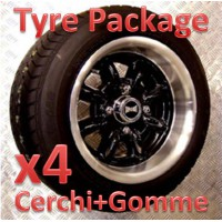 "TYRE PACKAGE SUPERLIGHT 6x12"" *NERO*"