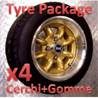 "TYRE PACKAGE SUPERLIGHT 6x12"" *ORO*"