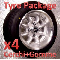 "TYRE PACKAGE SUPERLIGHT 6x12"" *ARGENTO*"