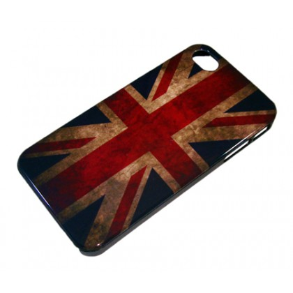 COVER IPHONE 4/4S UNION JACK VINTAGE
