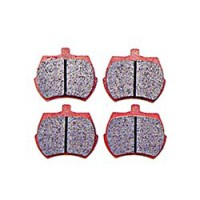 "SERIE PASTIGLIE FRENO ANT. EBC RED STUFF CERAMIC (8,4"")"