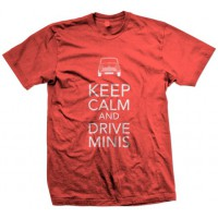 T-SHIRT KEEP CALM PAPRIKA - UOMO