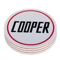 SET 4 SOTTOBICCHIERE COOPER