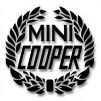 DECAL MINI COOPER ALLORO NERA